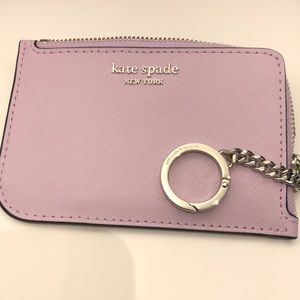 New💕Kate spade l-zip card holder